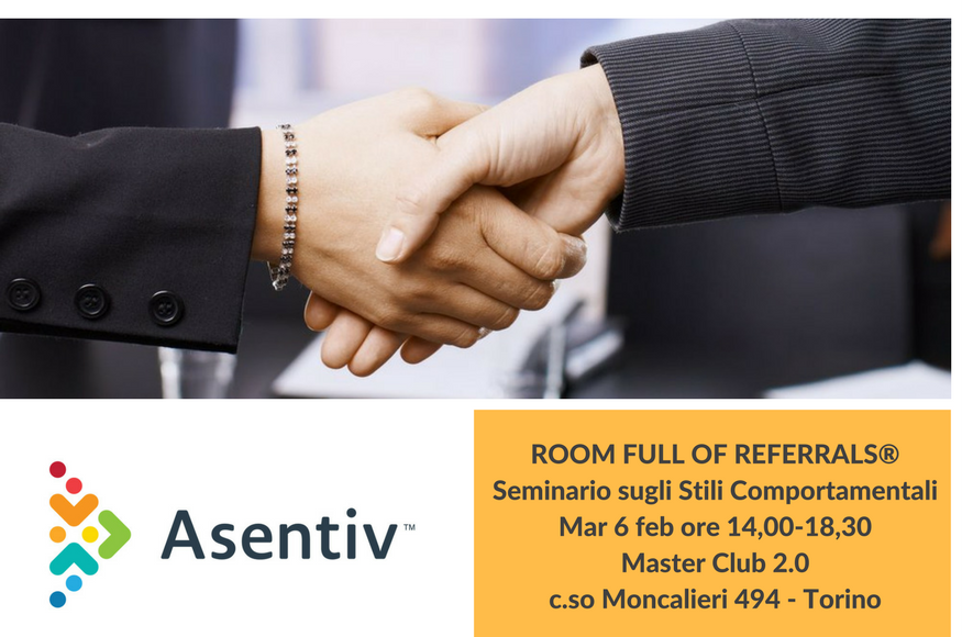 Room full of Referrals  Scopri come migliorare le tue abilita