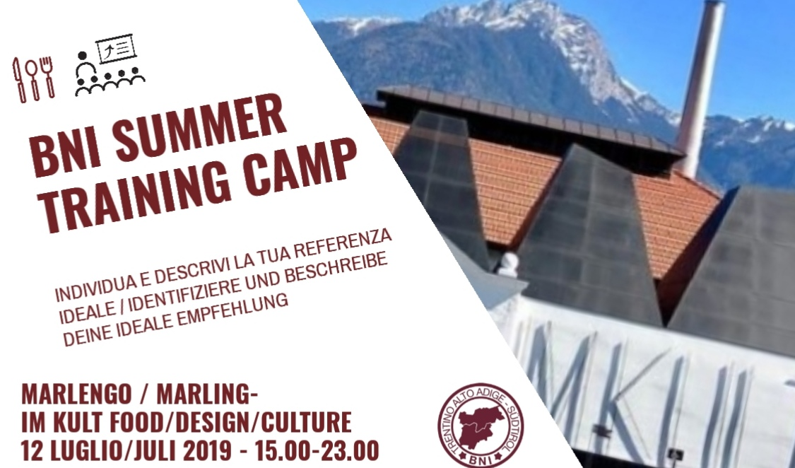 BNI Summer Training Camp