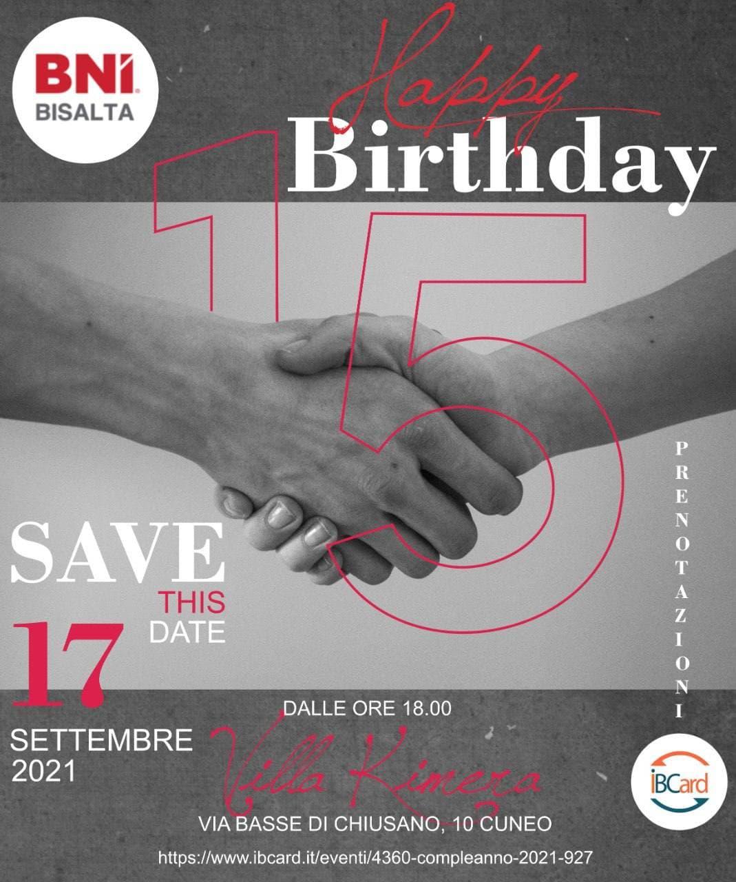 Happy birthday Capitolo BNI Bisalta