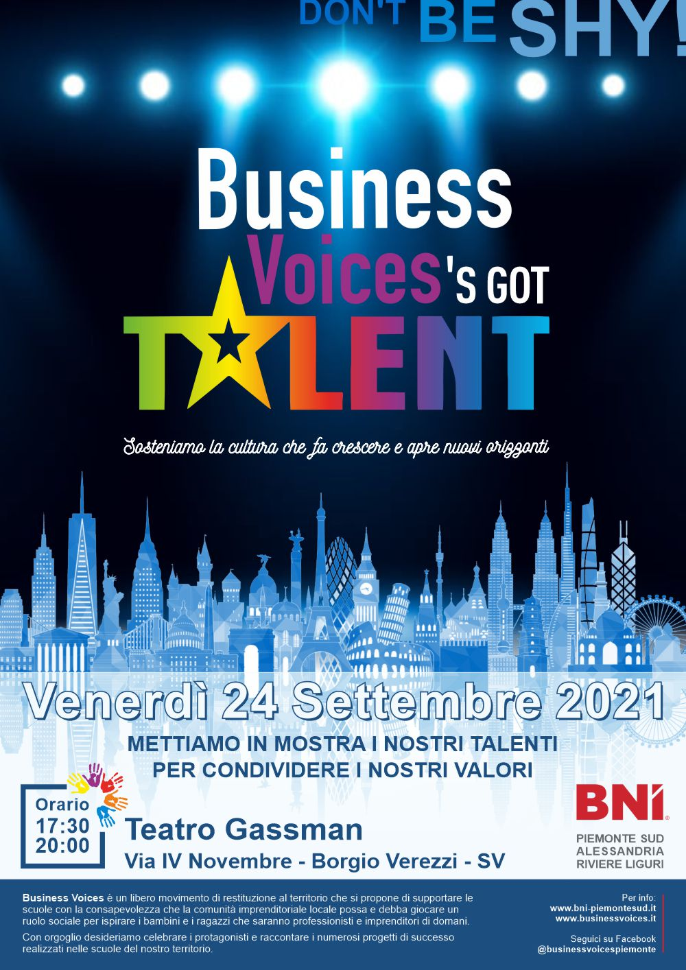 Business Voices 2021 - Compleanno