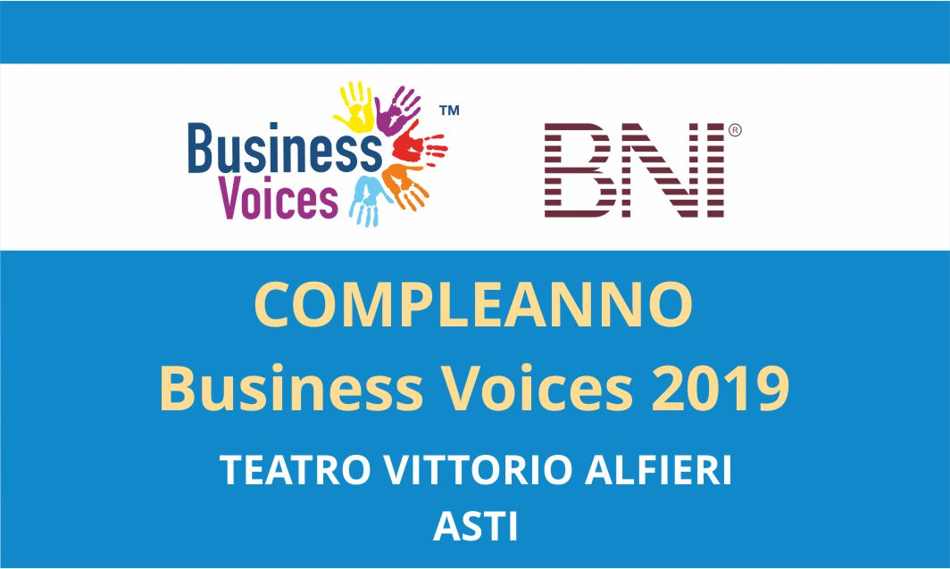 Business Voices 2019 - Teatro Civico Asti
