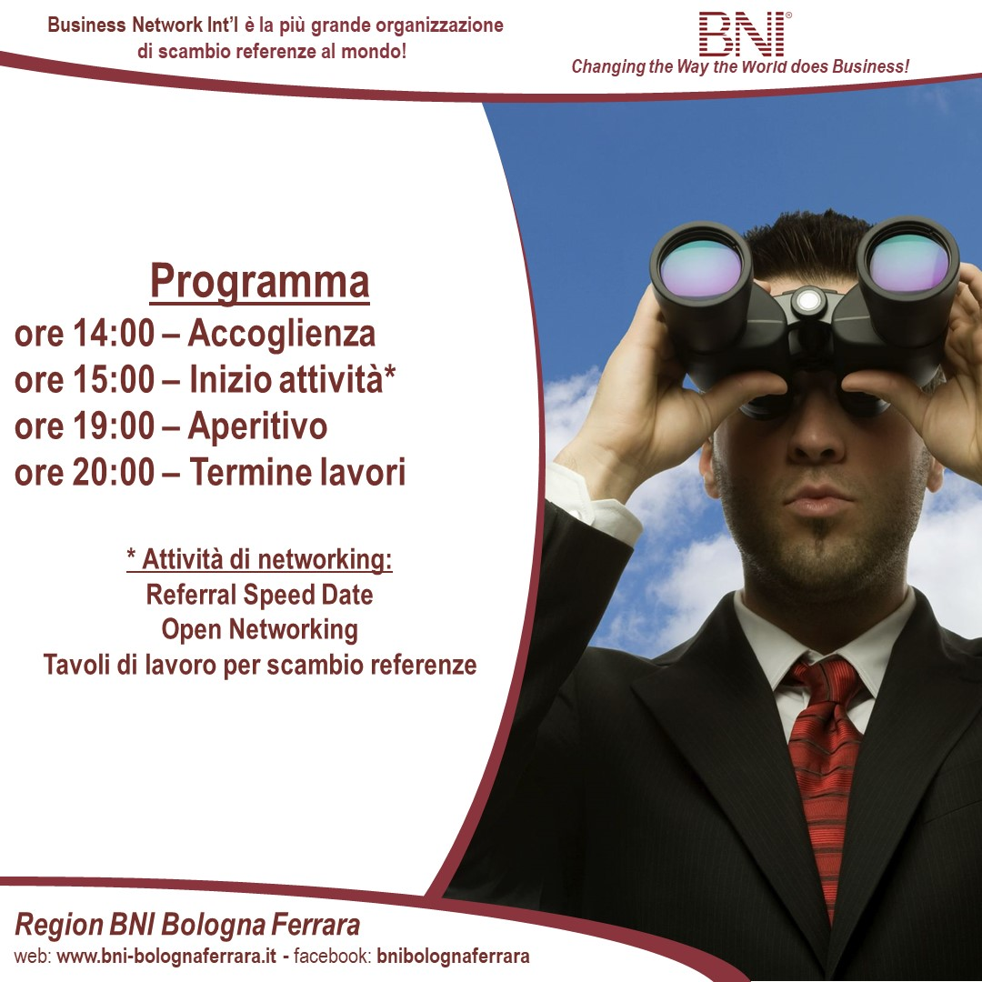 International Networking Week 2020 - Bologna