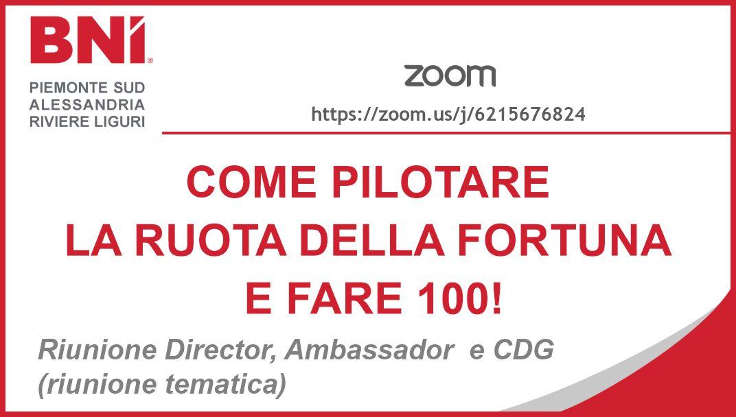 COME PILOTARE LA RUOTA DELLA FORTUNA E FARE 100